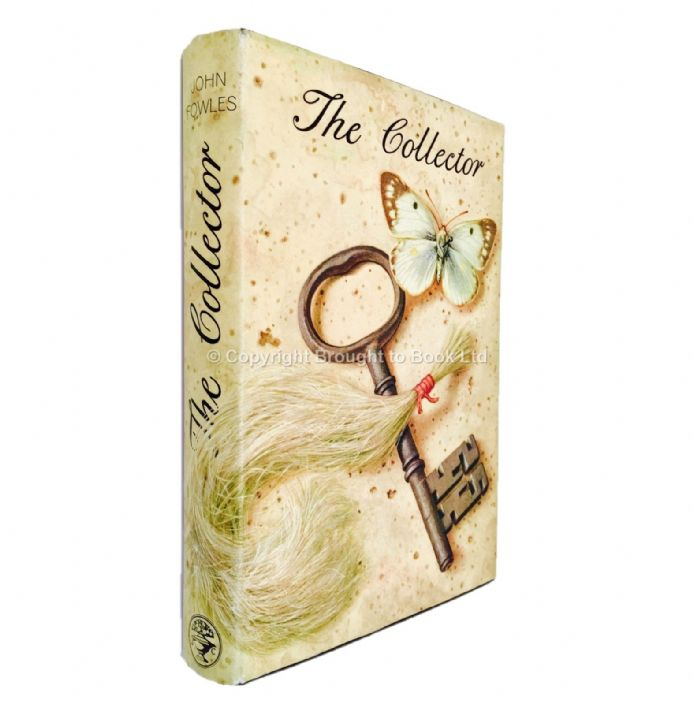 The Collector Signed by John Fowles First Edition Jonathan Cape 1963 Variant Black Boards